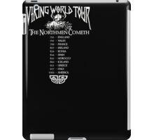 Viking World Tour T-Shirt iPad Case/Skin