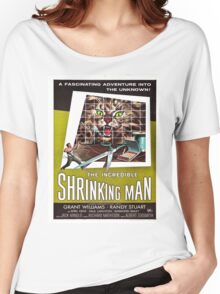 Vintage poster - The Incredible Shrinking Man Women's Relaxed Fit T-Shirt