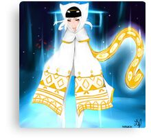 Journey - White Robe Canvas Print
