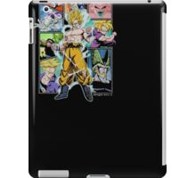 Ripple Junction Dragon Ball Z Character Frame Collage Adult T-Shirt iPad Case/Skin