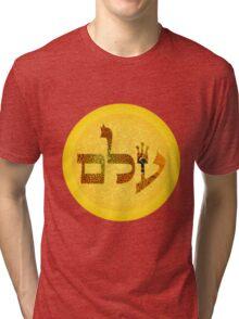 72 names of God - Ayin Lamed Mem Tri-blend T-Shirt