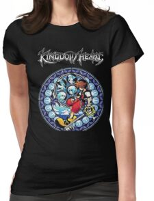 Kingdom Hearts Circular Logic Men Black T-shirt Womens Fitted T-Shirt