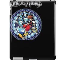 Kingdom Hearts Circular Logic Men Black T-shirt iPad Case/Skin