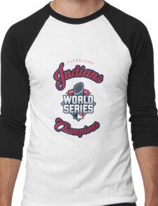 Cleveland Indians World Series Champs 2016 Men's Baseball ¾ T-Shirt
