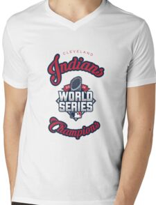 Cleveland Indians World Series Champs 2016 Mens V-Neck T-Shirt