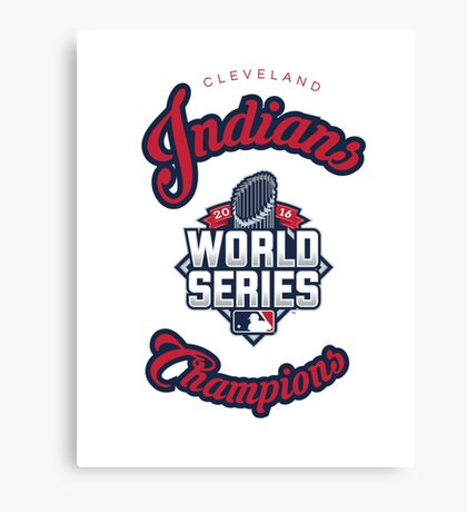 Cleveland Indians World Series Champs 2016 Canvas Print