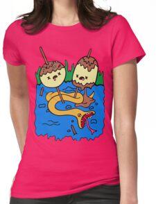 Princess Bubblegum's rock Womens Fitted T-Shirt