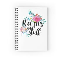 recipe notebook Spiral Notebook