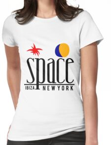 SPACE IBIZA Womens Fitted T-Shirt
