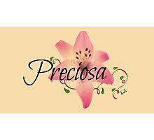 Preciosa(Precious)flower  Photographic Print