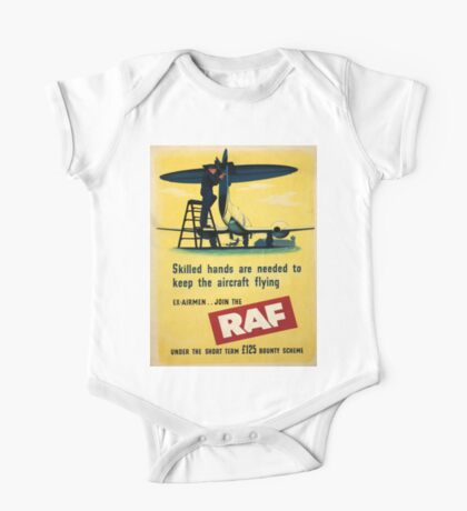 Vintage poster - Royal Air Force One Piece - Short Sleeve