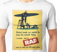 Vintage poster - Royal Air Force Unisex T-Shirt