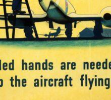 Vintage poster - Royal Air Force Sticker