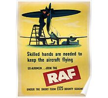 Vintage poster - Royal Air Force Poster