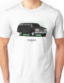 Chevrolet Suburban (GMT400) (black) Unisex T-Shirt