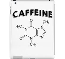 Funny Caffeine Quotes Special iPad Case/Skin