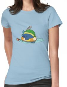 bash the duck Womens Fitted T-Shirt