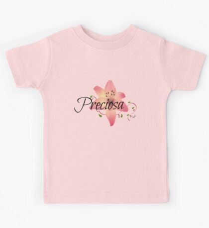 Preciosa(Precious)flower  Kids Tee