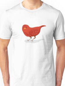 Little Red Bird Unisex T-Shirt