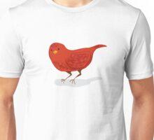 Little Red Bird Unisex T-Shirt