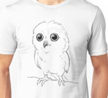 Cartoon Baby Owl Unisex T-Shirt