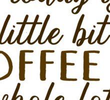 Jesus and Coffee Sticker