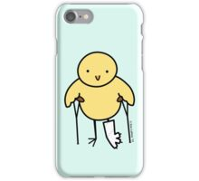Bird with Broken Leg iPhone Case/Skin