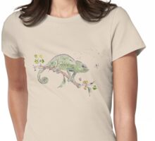 The colourful world of Chameleons Womens Fitted T-Shirt