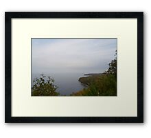 Colors on the Bay Framed Print