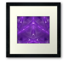 Abstract fractal magic color Framed Print