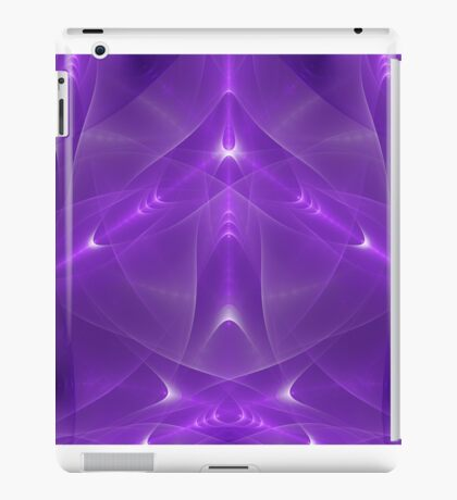 Abstract fractal magic color iPad Case/Skin