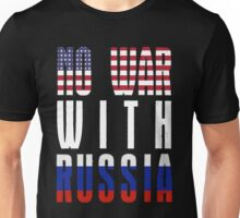 No War With Russia Unisex T-Shirt