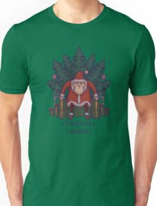 Santa of Thrones: Christmas Is Coming Unisex T-Shirt