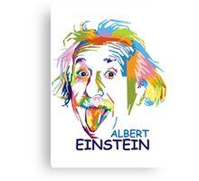 """WPAP - """"Albert Einstein 2"""" Canvas Print"""