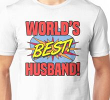 World's Best Husband Unisex T-Shirt