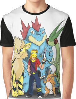 My Pokemon Team Graphic T-Shirt