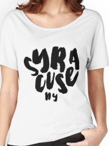 SYRACUSE Women's Relaxed Fit T-Shirt
