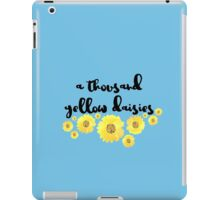 A Thousand Yellow Daisies iPad Case/Skin