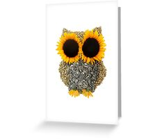 Hoot! Day Owl! Greeting Card