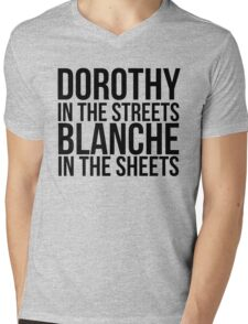 Dorothy In The Street Blanche In The Sheets Mens V-Neck T-Shirt