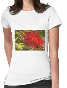 Bottle brush flower Womens Fitted T-Shirt