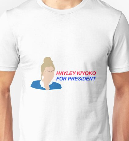 Hayley Kiyoko For President  Unisex T-Shirt