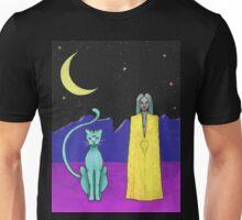 Space cat alien witch girl moon galaxy sorceress  Unisex T-Shirt