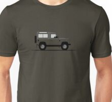 A Graphical Interpretation of the Defender 90 Station Wagon Autobiography Edition Unisex T-Shirt