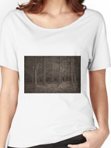 Dusk Forest View Women's Relaxed Fit T-Shirt