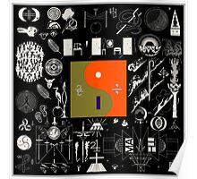 Bon Iver - 22, A Million Poster