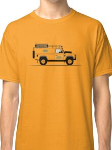 A Graphical Interpretation of the Defender 110 Hard Top Camel Trophy Classic T-Shirt