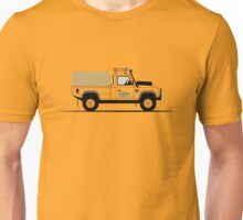 A Graphical Interpretation of the Defender 110 High Capacity Pick Up Camel Trophy Unisex T-Shirt