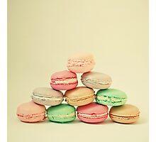 French Macarons Photographic Print