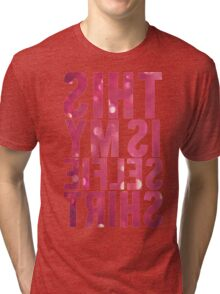 This Is My Selfie Shirt Mirrored Tri-blend T-Shirt